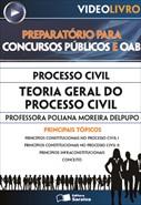 Processo Civil - Teoria Geral do Processo Civil - Profa. Poliana Moreira Delpupo