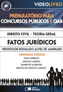 Direito Civil - Teoria Geral -  Fatos Jurídicos - Prof. Ronaldo Alves de Andrade