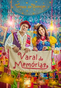 Valter Silva e Elaine Buzato -  Tempo de Brincar - Varal de Memórias