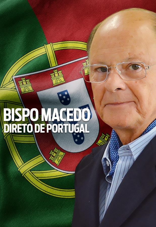 Bispo Macedo direto de Portugal
